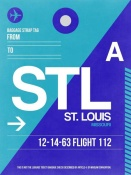 NAXART Studio - STL St. Louis Luggage Tag II