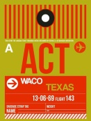 NAXART Studio - ACT Waco Luggage Tag I
