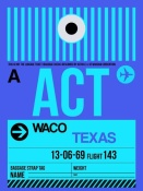 NAXART Studio - ACT Waco Luggage Tag II
