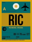 NAXART Studio - RIC Richmond Luggage Tag I