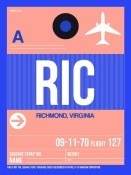 NAXART Studio - RIC Richmond Luggage Tag II