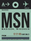 NAXART Studio - MSN Madison Luggage Tag I
