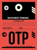 NAXART Studio - OTP Bucharest Luggage Tag I