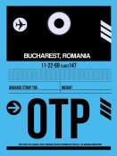 NAXART Studio - OTP Bucharest Luggage Tag II