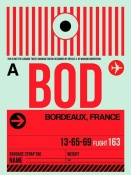 NAXART Studio - BOD Bordeaux Luggage Tag I