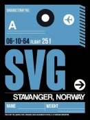 NAXART Studio - SVG Stavanger Luggage Tag II