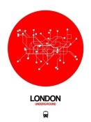 NAXART Studio - London Red Subway Map