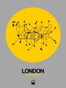 NAXART Studio - London Yellow Subway Map