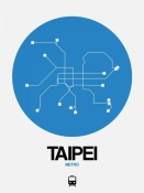 NAXART Studio - Taipei Blue Subway Map