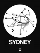 NAXART Studio - Sydney White Subway Map