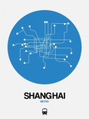 NAXART Studio - Shanghai Blue Subway Map