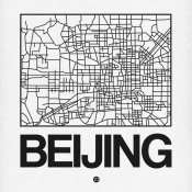 NAXART Studio - White Map of Beijing