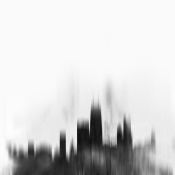 NAXART Studio - Chicago City Black Skyline